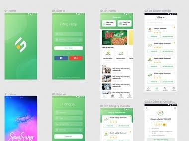 Some Social app