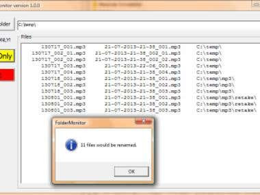 Folder Monitor (VB6 Standalone Utility)