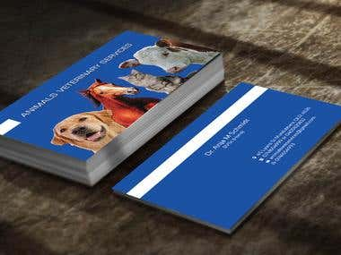 Double Side Business Card