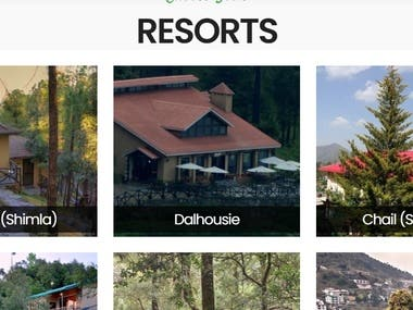 Online Resorts and Hotel booking Application