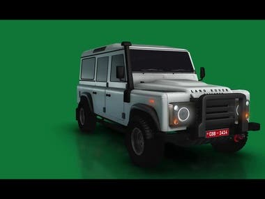 3D Animation Project Defender