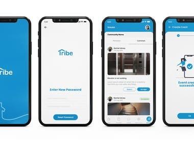 Neigbor app design - Tribe