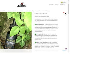 Beard Oil Product Description Writing