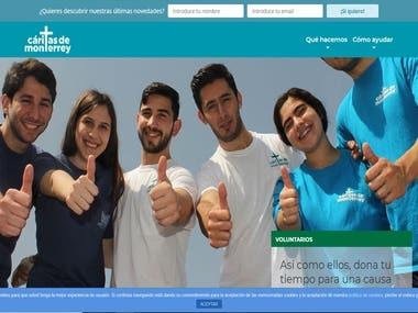 A Social Web Site built by Angular + Django: