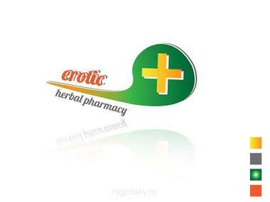 Erotic - Herbal Pharmacy [LOGO DESIGN]