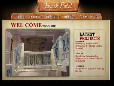 Website Development Of www.jayeshpatel.co.in