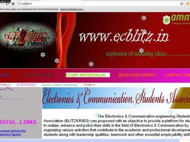 Website Ecblitz.in
