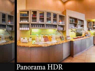 Interior & HDR Retouching