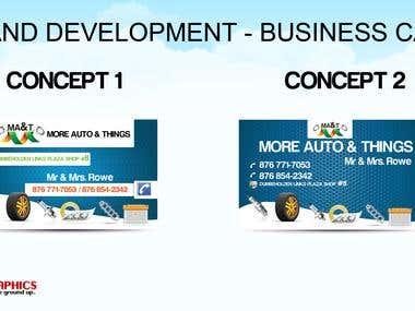 Brand Development - Design Portfolio