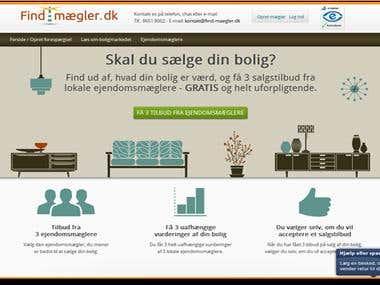 Online Real Estate Website