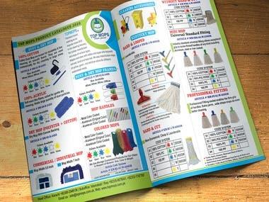 TopMops Catalog Design
