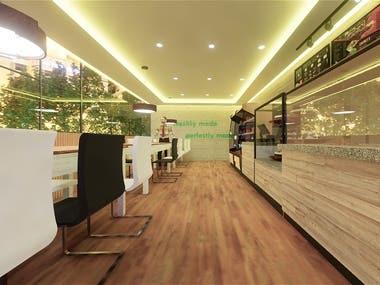 Cafe Interior Project Design
