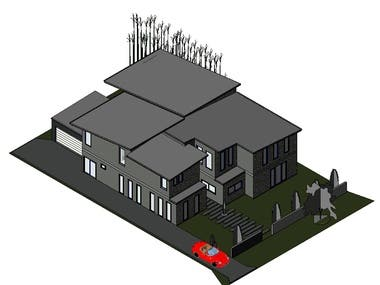 BIM modeling and Floor plan