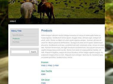 WordPress Responsive Theme [ Twitter Bootstrap ]