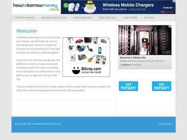 WordPress Child Theme html5