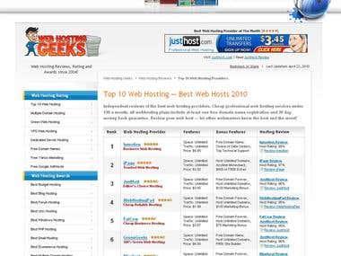 Web Hosting Geek