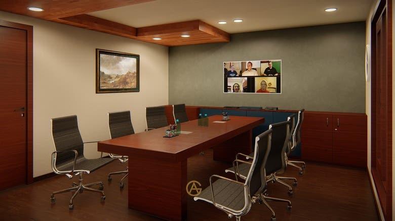 Small Office Interior Design New Delhi India Freelancer