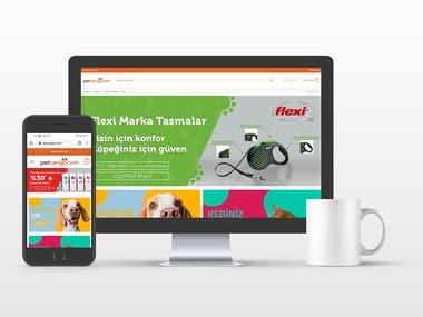 Petcango.com E-Ticaret Web