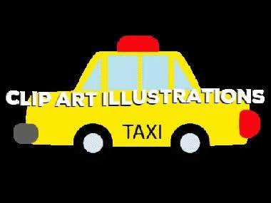 Clip art illustrations