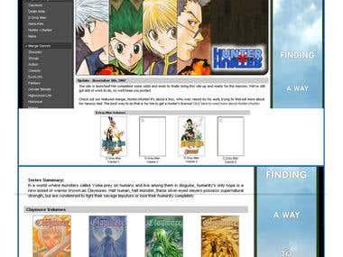 Aniseeker Manga