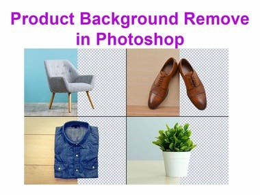 Product Background Remove in Photoshop