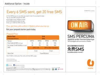 U mobile Flyer