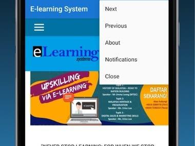 Native Web View App