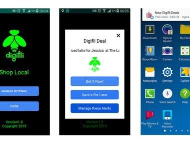 Digifli (Android Java)