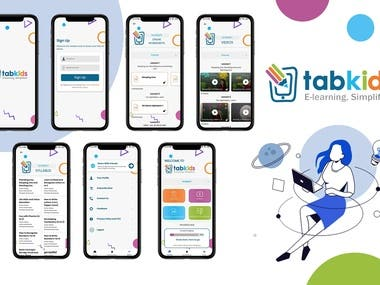 Mobile Apps - Tabkids!