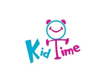 Kids Time Logo mark branding