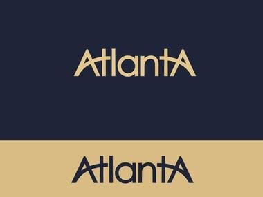 AtlantA Logo mark branding