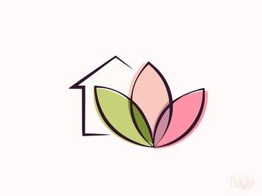 home health care logo branding