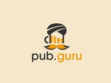Bar Logo mark branding