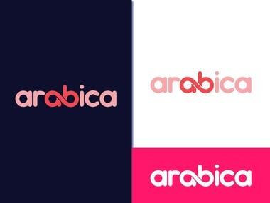 arabica logo design