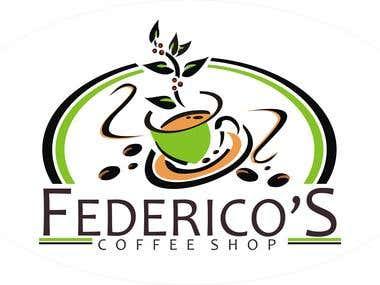 Coffe Shop logo Sample