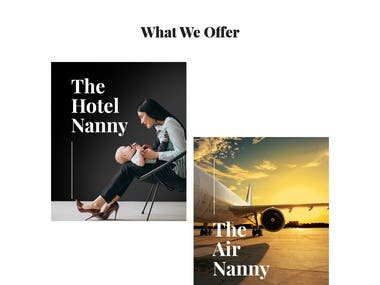Hotel Nanny Booking Portal
