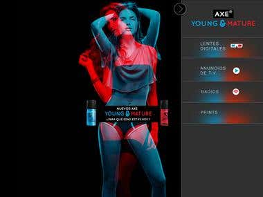 Axe Young & Mature App – Audio / Video