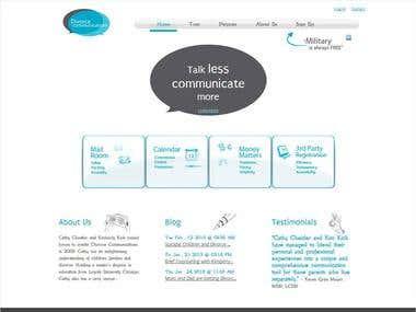 Divorce Communication Website