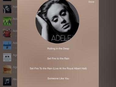 iPlayBox with mood playlists