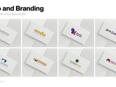 Logo designs made for various clients