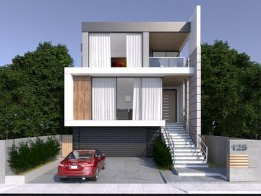 Facade Design and Render