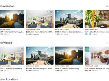House Rental Site - React