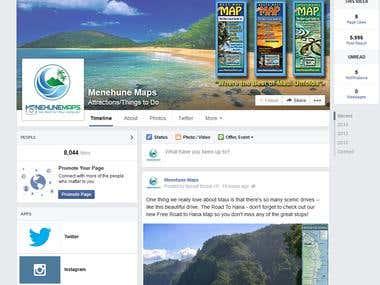 Facebook page I manage