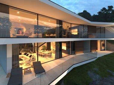 Modern villa. Grenada.