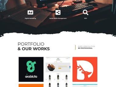 Techecks Web Solutions Agency Website