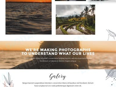 Linnell Photo Landing Page