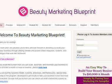 Beautymarketingblueprint.com