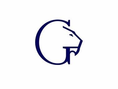 G Lion Monogram Logo
