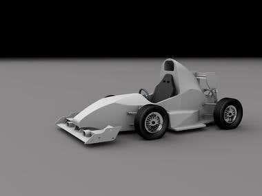 The formula car