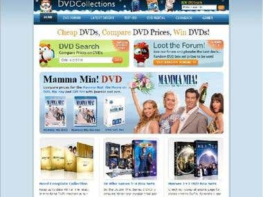 DVD & CD shop.